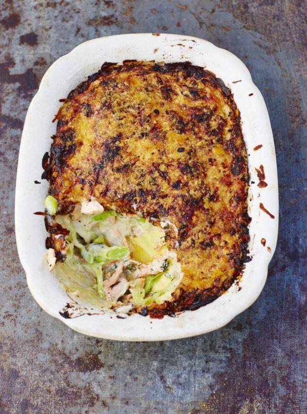 Salmon lasagna - www.fish-tales.com