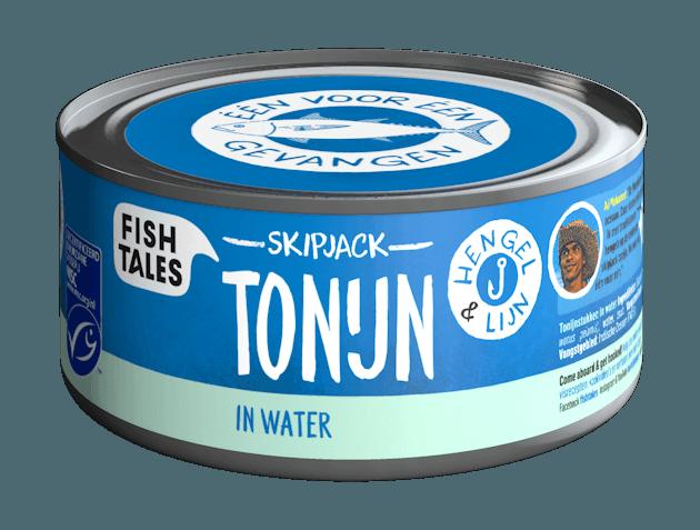 Ali's tonijn in water - www.fish-tales.com