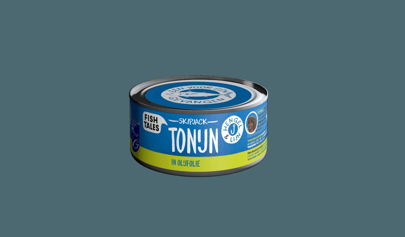 zwanger tonijn uit blik