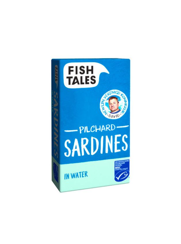 Sardines in water - www.fish-tales.com