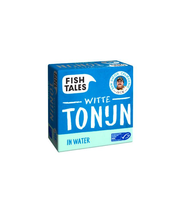 Jacks tonijn in water -www.fish-tales.com