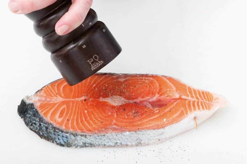 www.fish-tales.com - salmon steak
