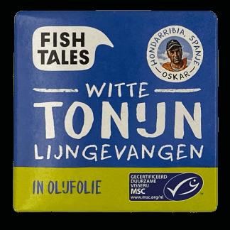 witte tonijn olijfolie