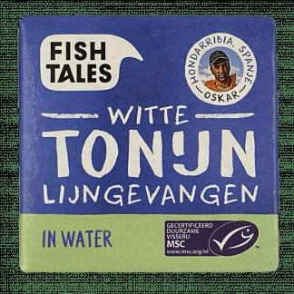 witte tonijn water